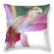 Passion For Flowers. Sensualite Throw Pillow