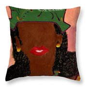 Passionate And Creative Throw Pillow