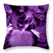 Passionate Purple Overload Throw Pillow
