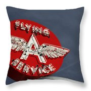 Past Gas Throw Pillow