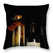 Pasta And Wine Throw Pillow