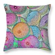 Pastal Art Throw Pillow
