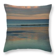 Pastel Reflections On The Coast Throw Pillow