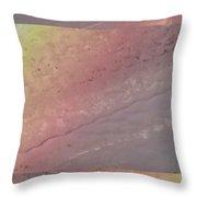 Pastel Topographic 1 Throw Pillow