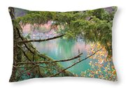 Pastels Emphasized Throw Pillow