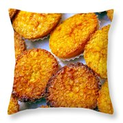 Pastry Cakes Throw Pillow
