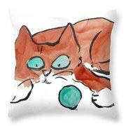 Pat Pat Pat Throw Pillow