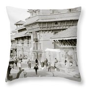 Patan Throw Pillow