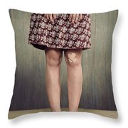 Patches Throw Pillow by Joana Kruse