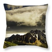 Patches Of Light Find Their Way Through Throw Pillow