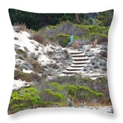 Path To Somewhere Throw Pillow