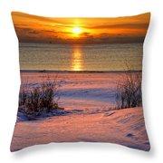 Path To Splendor  Cropped Throw Pillow
