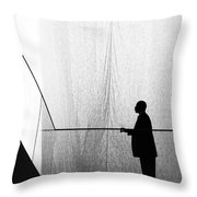 Patient Tension Throw Pillow