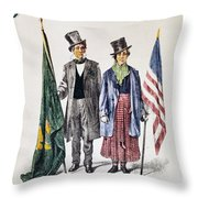 Patricks Day: Music, 1873 Throw Pillow by Granger