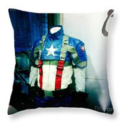 Patriotic Outfit Throw Pillow