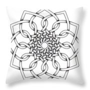 Pattern 18 Throw Pillow