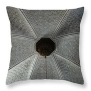 Patterns In Grey Throw Pillow