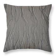 Patterns In Sand Throw Pillow