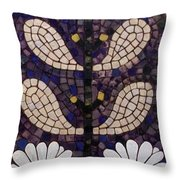 Patterns Of The Past Throw Pillow