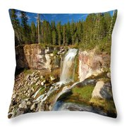 Pauina Falls Overlook Throw Pillow