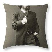 Paul Von Heyse (1830-1914) Throw Pillow