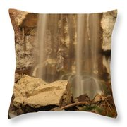 Paulina Falls Cascade Throw Pillow