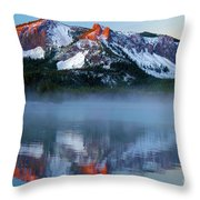 Paulina Peak Reflections Throw Pillow