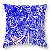 Peace And Action Throw Pillow
