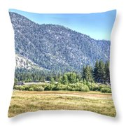 Peace At Kahle Park Throw Pillow