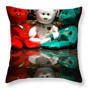 Peace Love Joy Throw Pillow
