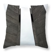 Peace Tower Throw Pillow