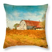 Peaceful Day's Throw Pillow