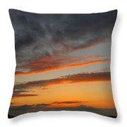 Peaceful Evening II Throw Pillow