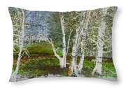 Peaceful Meadow Throw Pillow