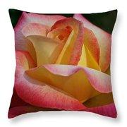 Peaceful Petals Throw Pillow