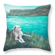 Peaceful Place At The Cove Palisades Throw Pillow