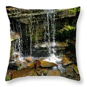 Peaceful Rocks Throw Pillow