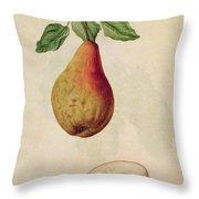 Pear   Pyrus Communis Throw Pillow