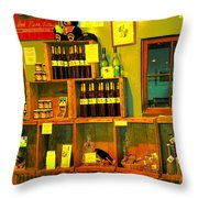 Pear Wine And Jam Throw Pillow