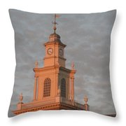 Pearl Evening Throw Pillow