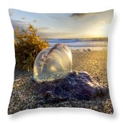 Pearl Of The Sea Throw Pillow