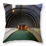 Pearl Street Walkover Throw Pillow