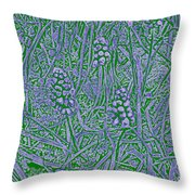 Pearls In The Grass 2 Throw Pillow