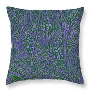 Pearls In The Grass 3 Throw Pillow