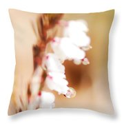 Pearls In The Wind Throw Pillow