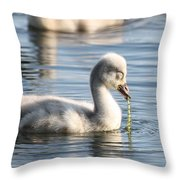 Pearls Of Innocence Throw Pillow