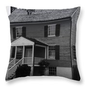 Peers House Appomattox County Court House Virginia Throw Pillow by Teresa Mucha