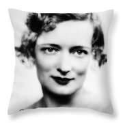 Peggy Wood (1892-1978) Throw Pillow