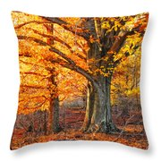 Peggy's Woods Throw Pillow