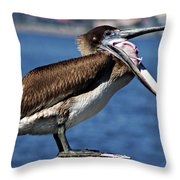 Pelican I Throw Pillow